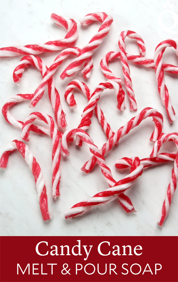 Candy Cane Melt and Pour Soap