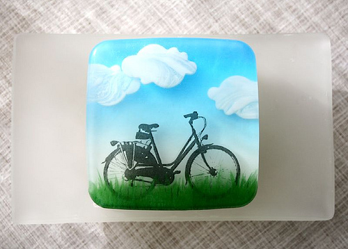 The Making of the Bicycle Soap