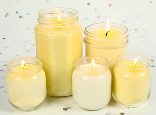 how to melt candles to make new ones