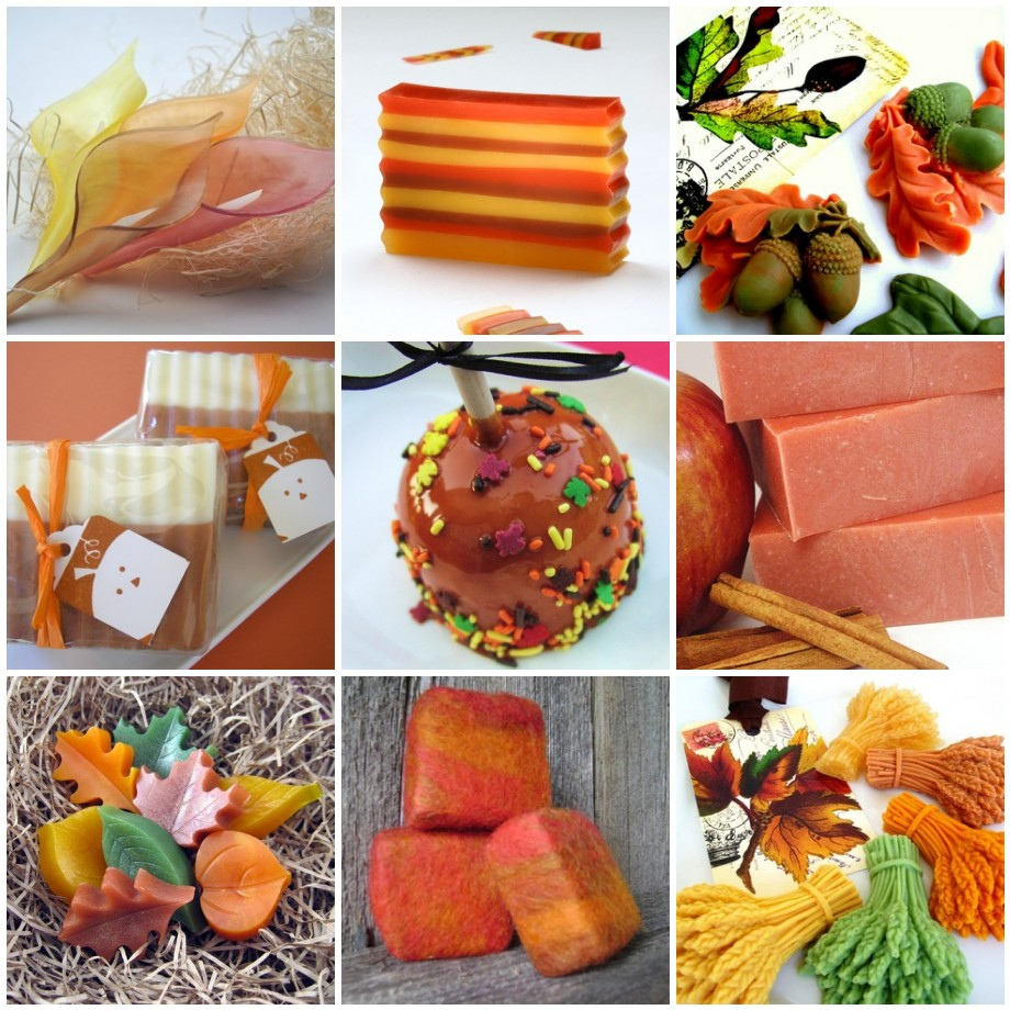 Fall ing in love with autumn inspiration soap queen for Fall soap scents
