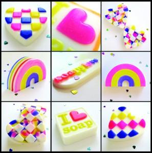 Neon soaps