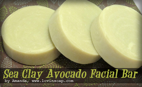 Sea Clay Avocado Facial Bar - Soap Queen