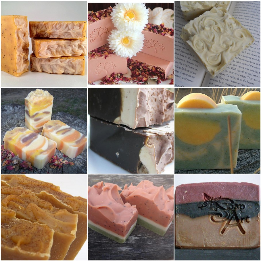 Natural Colorants For Body Scrubs