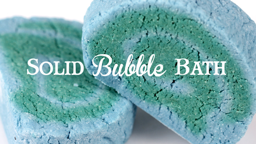 How to Make Solid Bubble Bath