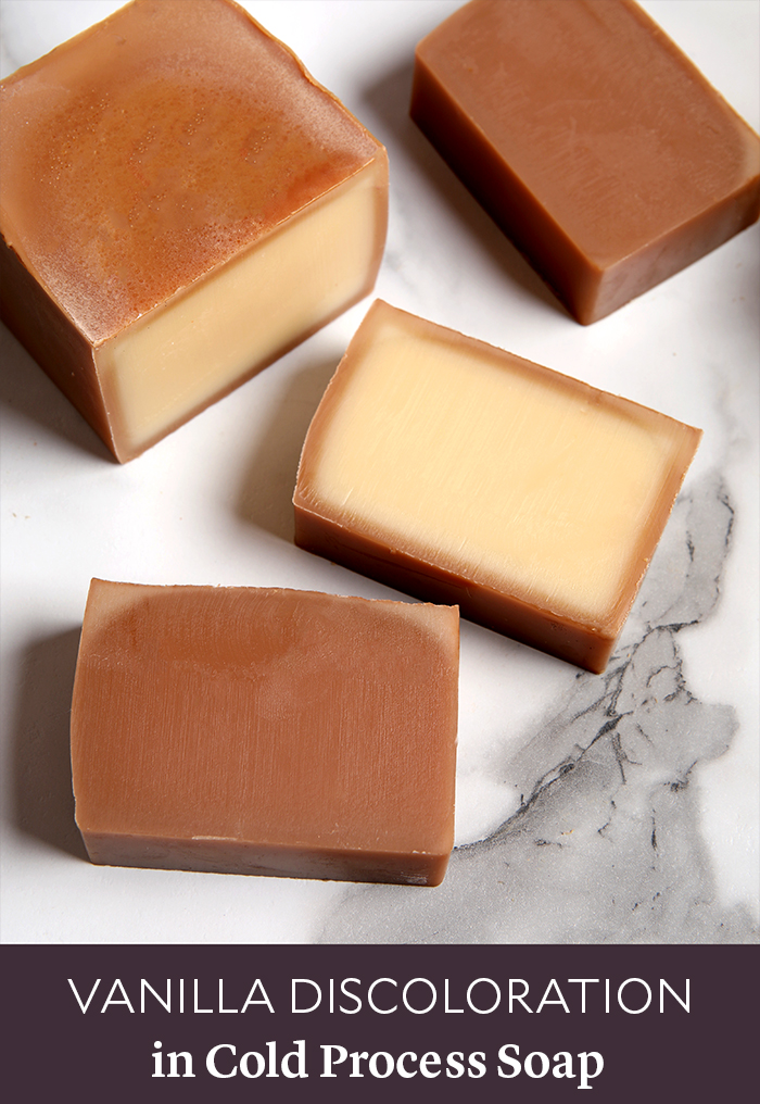 Vanilla Discoloration in Cold Process Soap