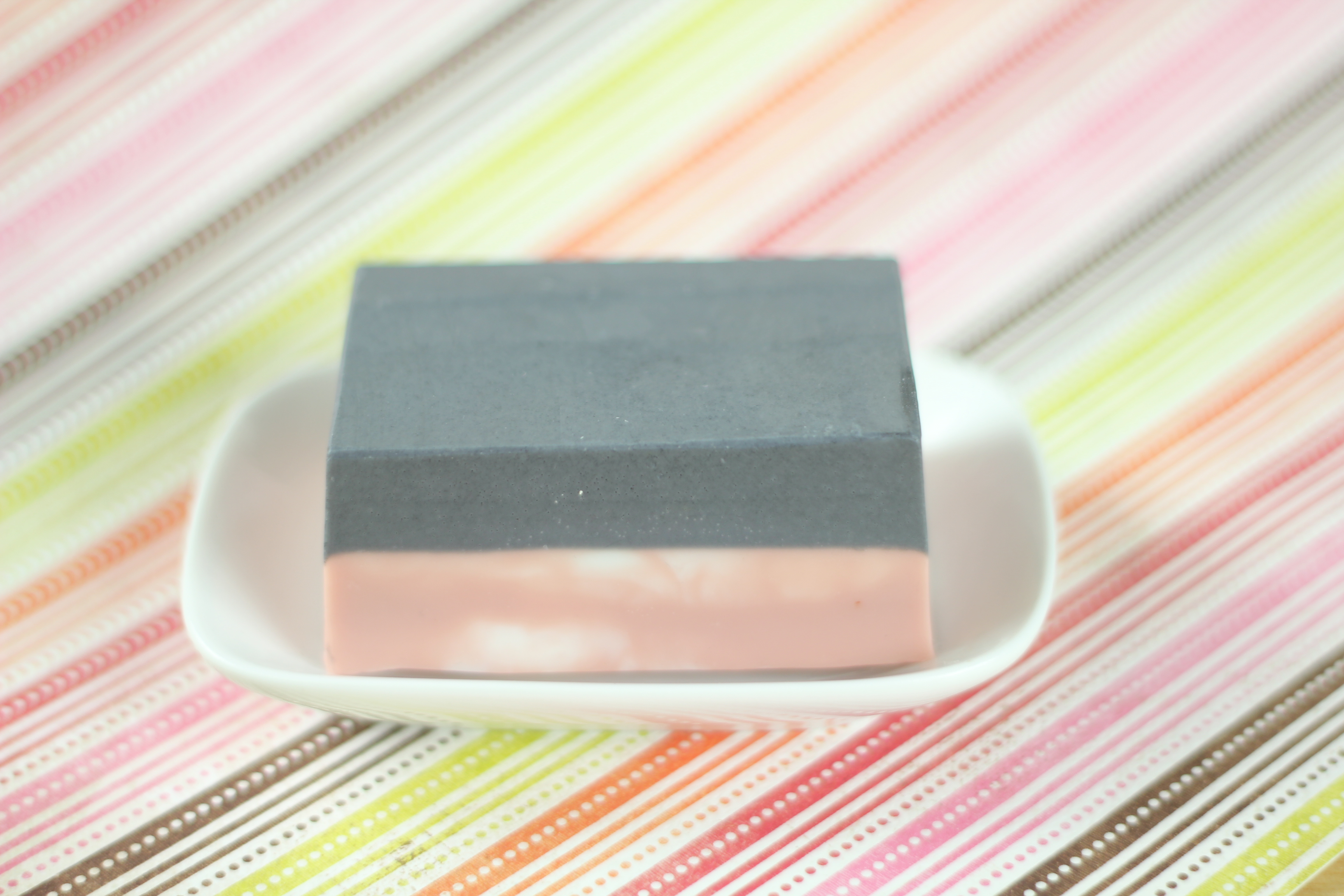 Charcoal And Rose Clay Spa Bar Soap Queen