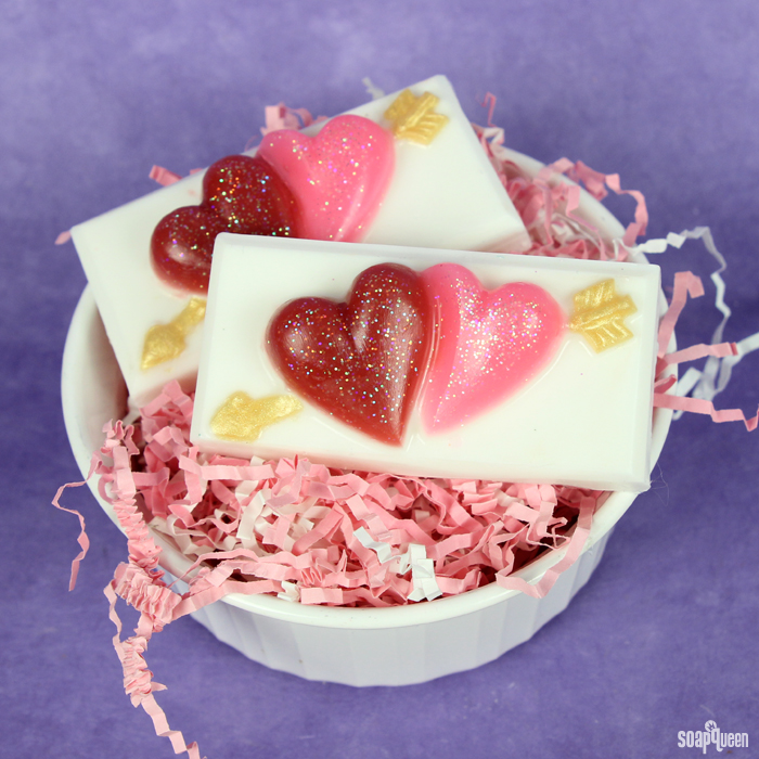 Sparkling Strawberry Melt and Pour Bars Kit
