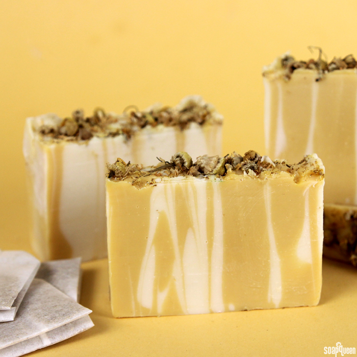 Yellow Chamomile Cold Process Soap Kit