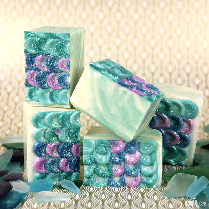 Mermaid Tail Cold Process Soap