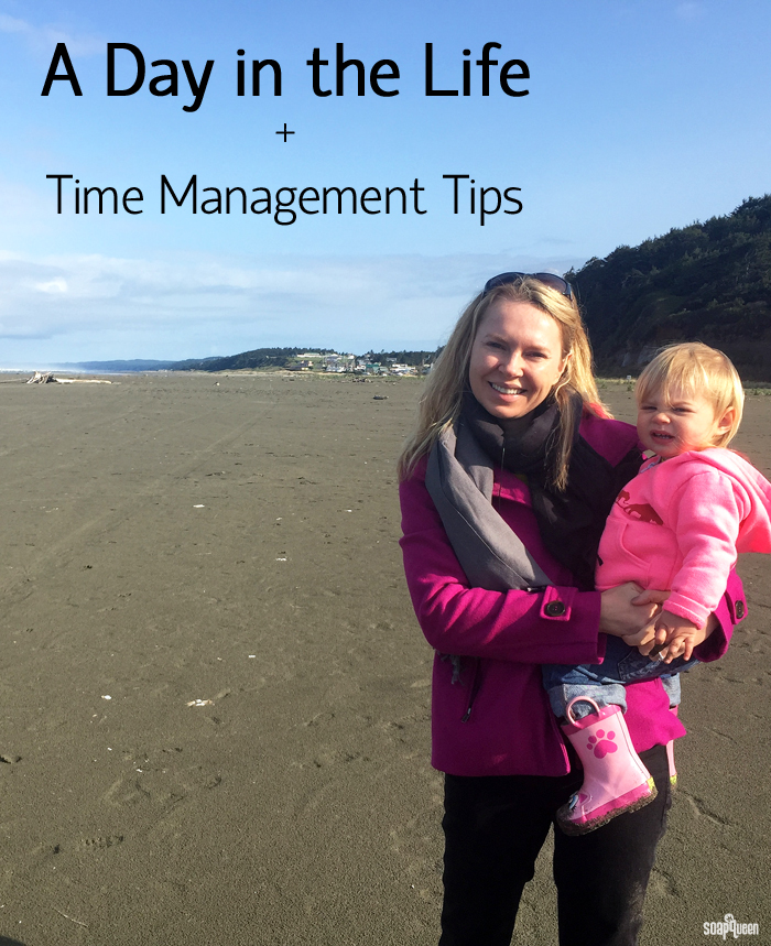 A Day in the Life + Time Management Tips