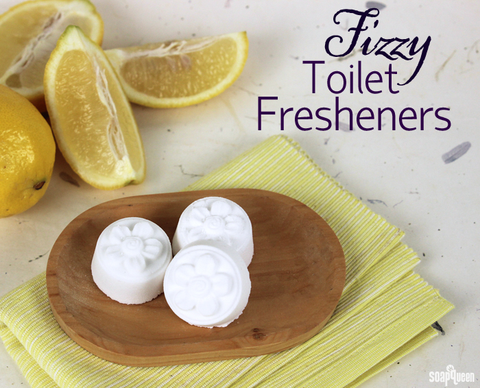 Fizzy toilet fresheners soap queen for Air freshener for bathroom