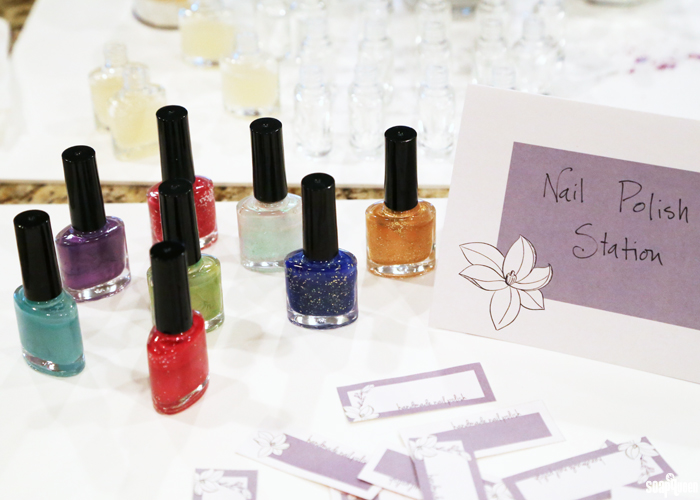 DIY Nail Polish Party Kit