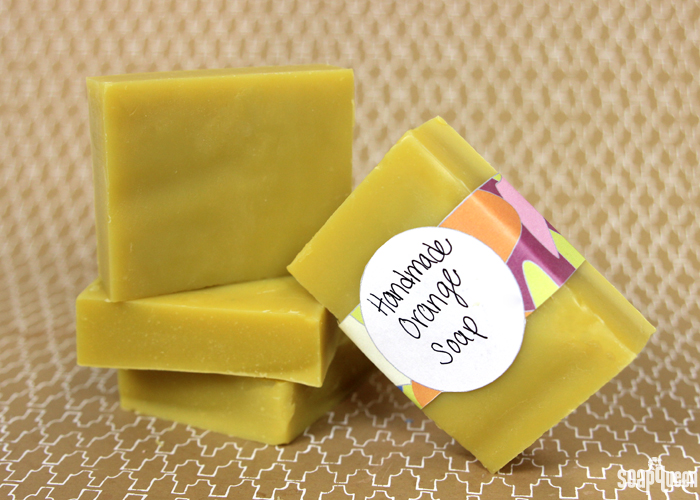 Creamy Orange Cold Process Soap Recipe | Most-Liked Homemade Soap Recipes For Frugal Homesteaders