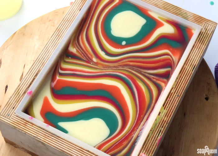 5 Tips for Swirling Cold Process Soap