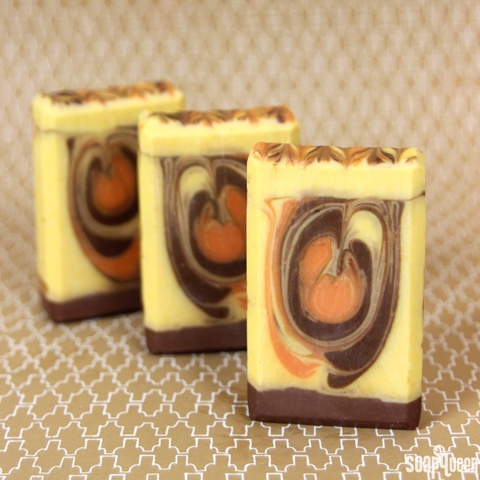 Pumpkin Spice Swirl Cold Process Soap Kit