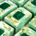 Emerald Swirl Cold Process Tutorial