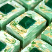 Emerald Swirl Cold Process Tutorial