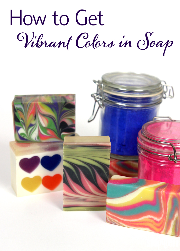 How to Get Vibrant Color in Soap