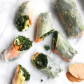 Tofu and Kale Fresh Rolls Recipe