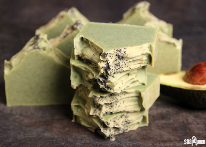Avocado + Spearmint Cold Process Soap Tutorial