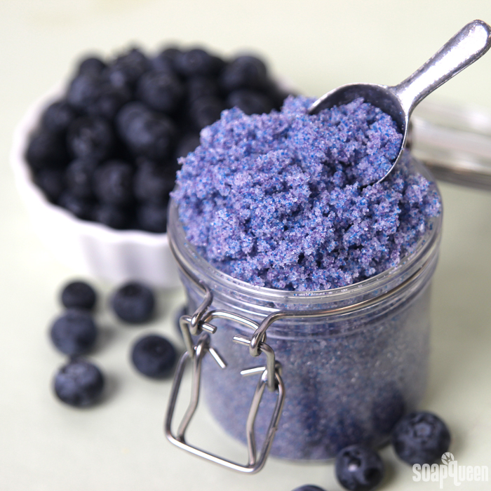 This Blueberry Jam Fragrance Oil contains skin loving fractionated coconut oil and gentle jojoba beads for exfoliation.