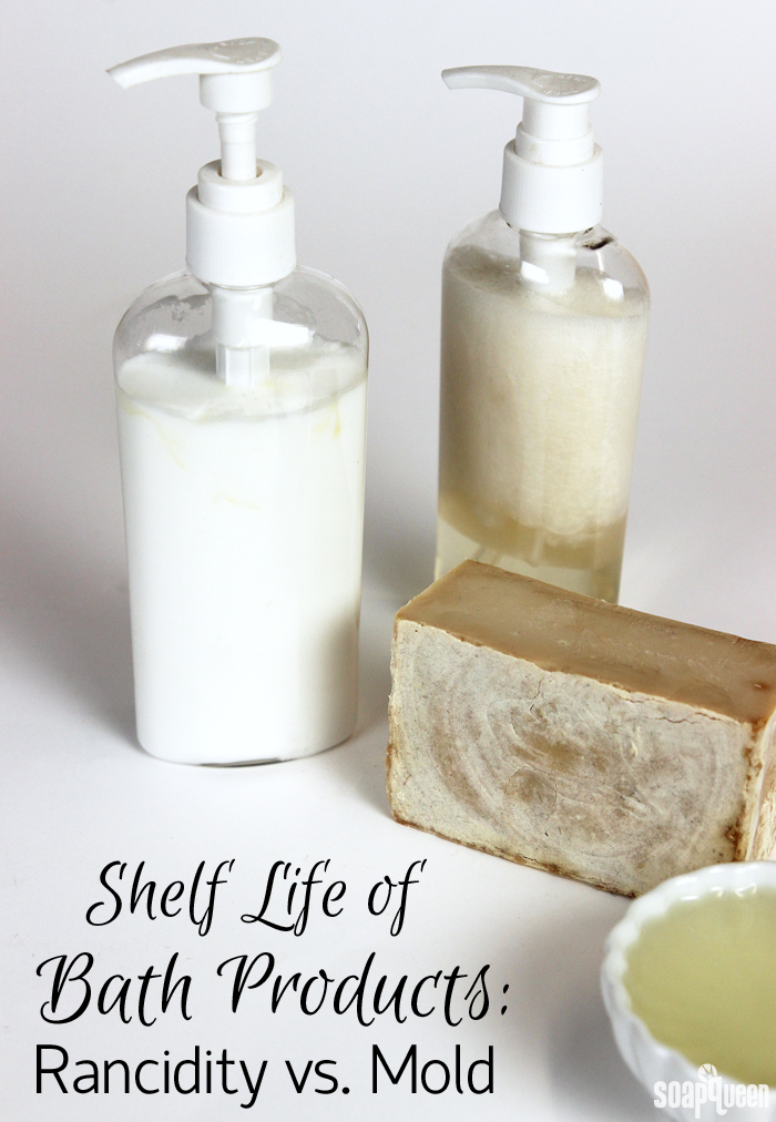 Just like food, bath and beauty products and ingredients have a shelf life. Learn how to determine the shelf life of your products, and the difference between rancidity and mold.