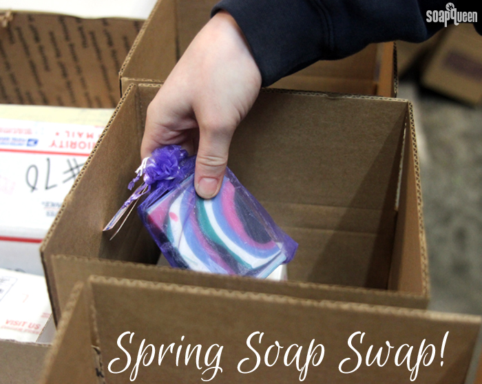 The Spring Soap Swap is over, but another swap will take place in August 2016! Click here to learn how to be among the first notified of how and when to sign up.