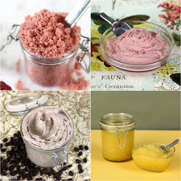 Looking for spring projects? This post includes over fifteen tutorials to create scrubs, soap and more.