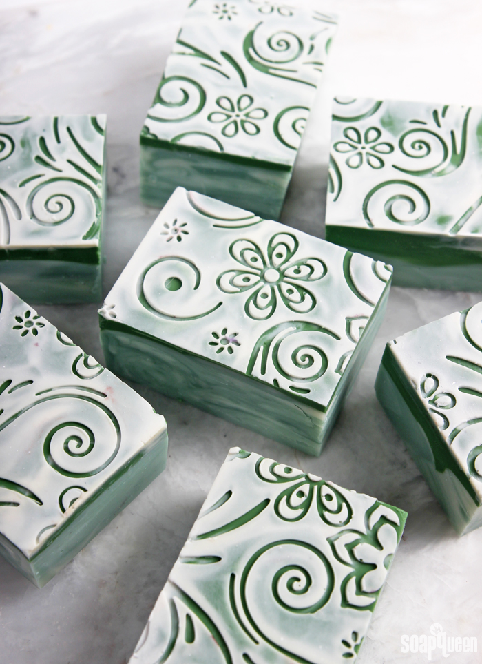 Bamboo Mint Impression Cold Process Soap