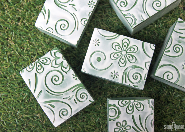 Bamboo Mint Impression Soap DIY