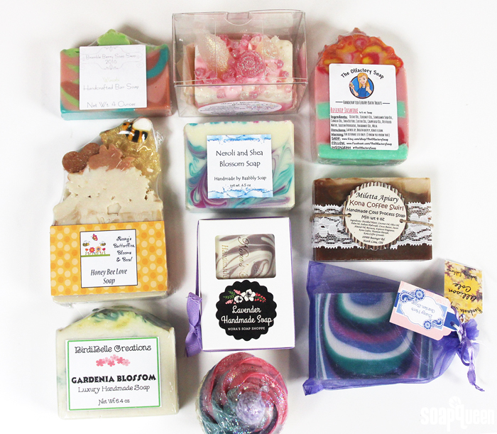 Watch Anne-Marie open her Soap Swap Box, full of gorgeous handmade soap!