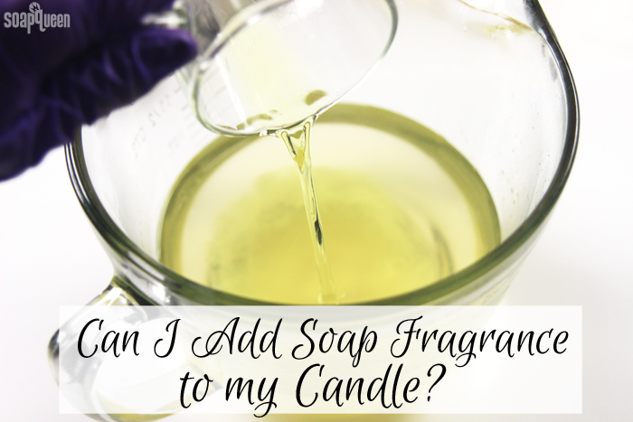 Can you add soapmaking fragrances to candles? Click to learn more about how to get the best scent in your candle projects.