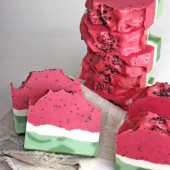 Juicy Watermelon Soap DIY