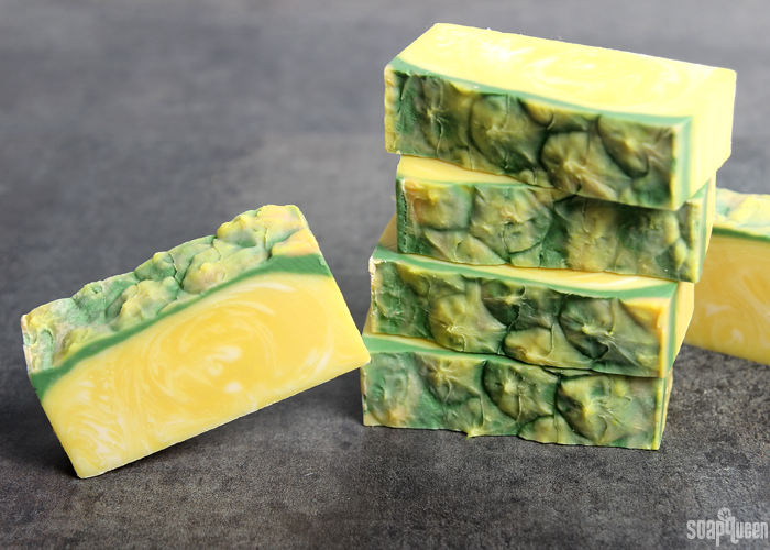 Perfect Pineapple Soap Tutorial /// Learn how to create realistic looking pineapple soap!