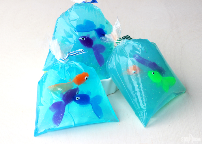 Fish in a bag melt and pour soap diy soap queen for Fish in a bag