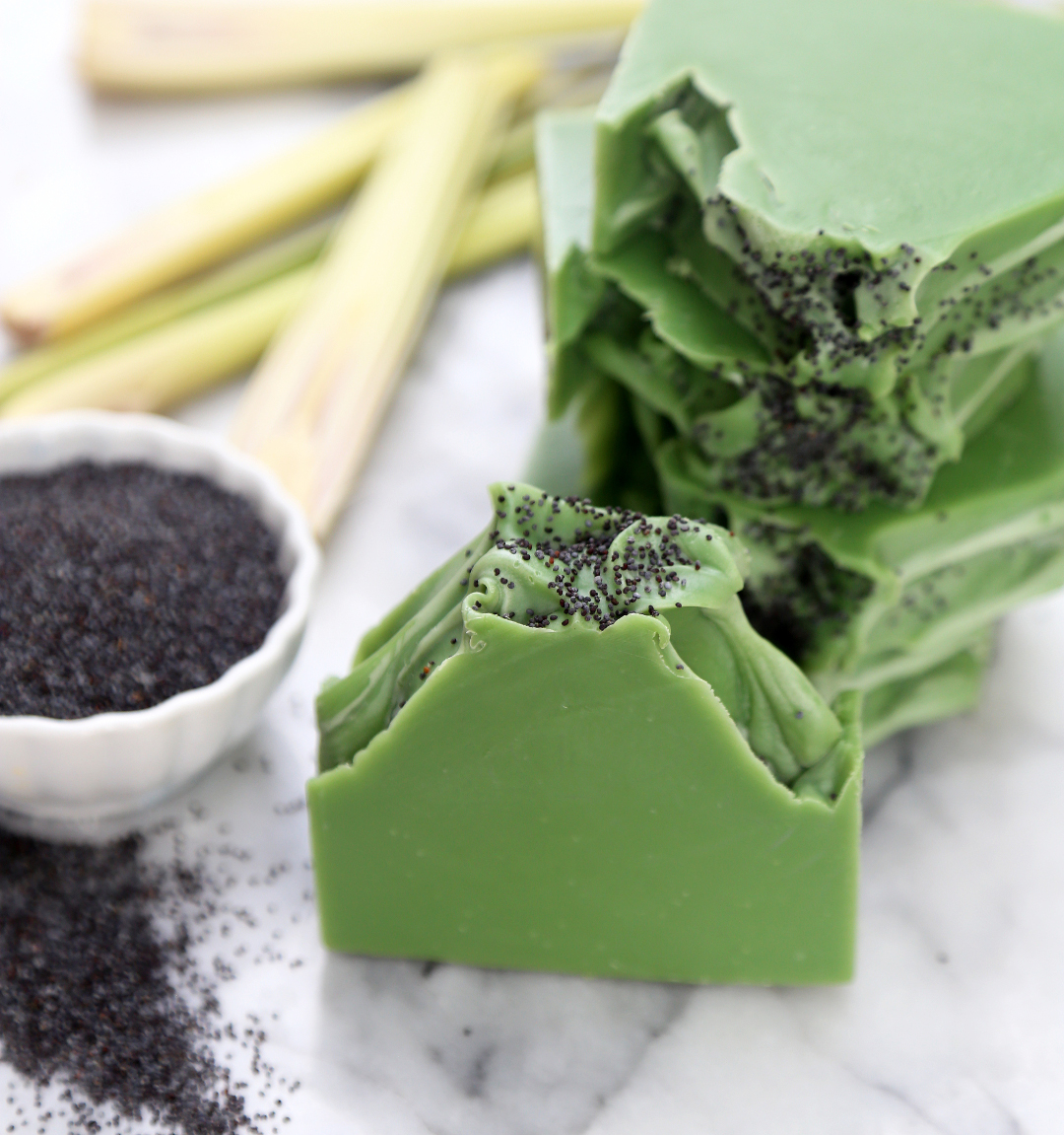 Coloring Soap With Spinach Powder - a-k-b.info