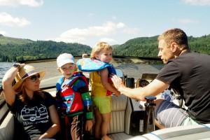 Faiola Family at Lake Samish