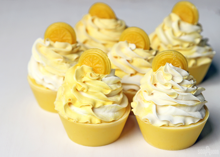 Lemon Soap Cupcakes Recipe