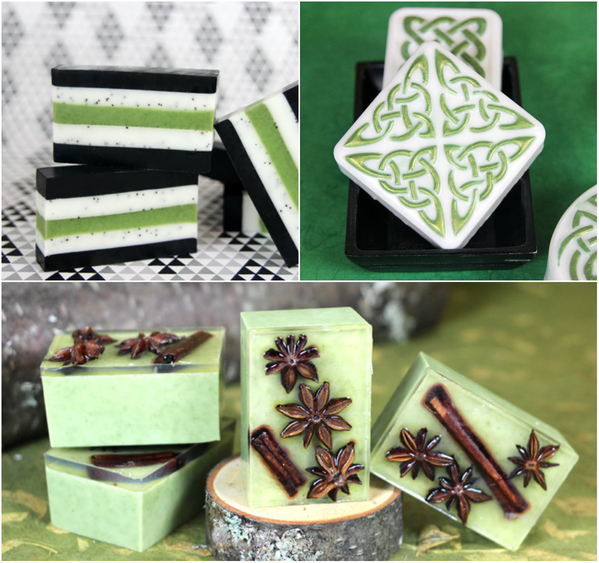 #SoaptheRainbow Green Week Inspiration
