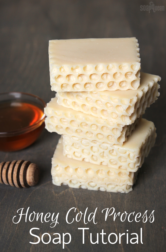 Honey Cold Process Soap Tutorial