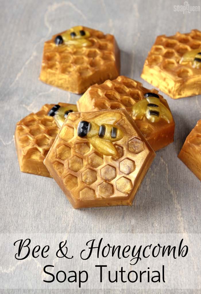 Honeycomb Melt & Pour Soap Tutorial