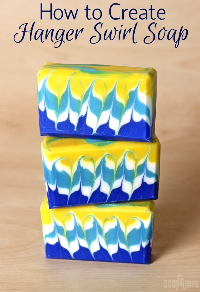 How to Create Hanger Swirl Soap