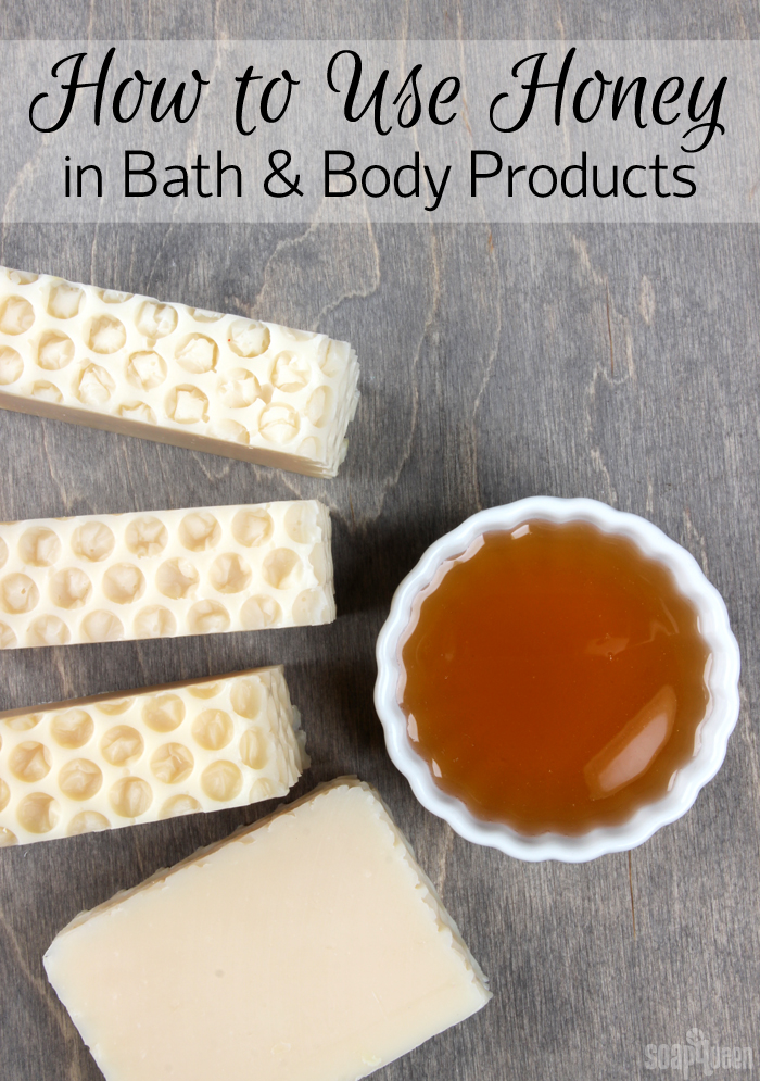 How to Use Honey in Products. Learn how to incorporate honey into soap, balms and lotion.
