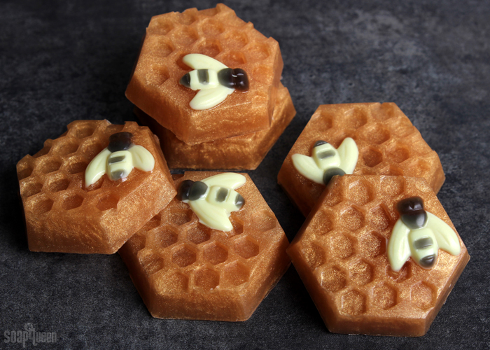 Honey Bee Melt and Pour Soap DIY