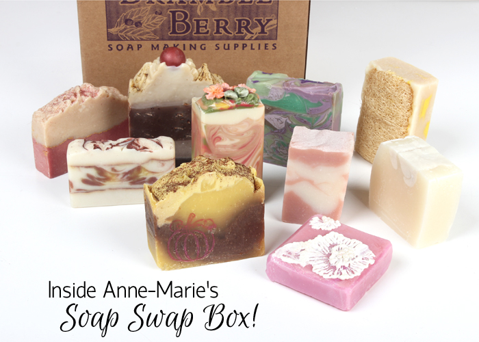 Inside Ann-Marie's Soap Swap Box
