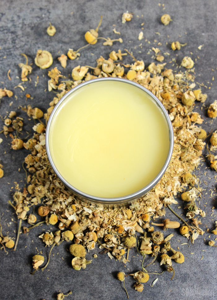 Chamomile & Coconut Oil Body Balm DIY