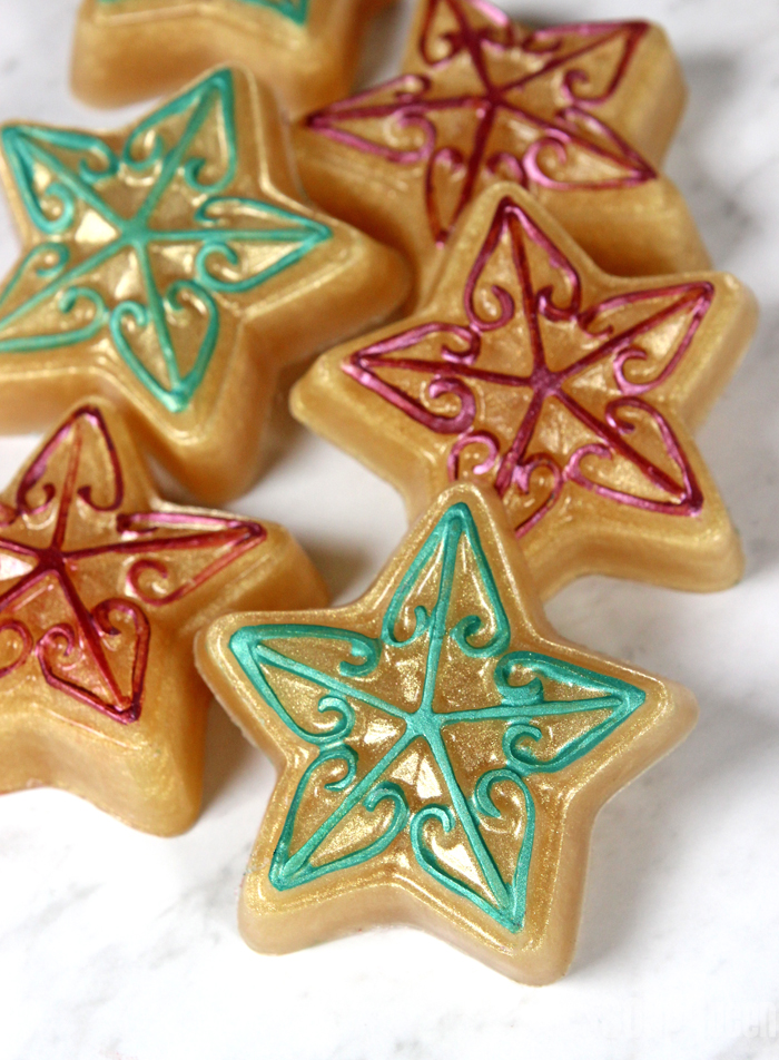 Christmas Star Melt & Pour Tutorial