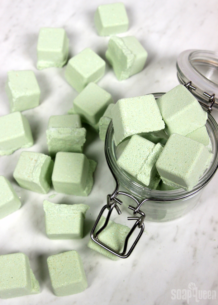 Mini Key Lime Bath Bombs