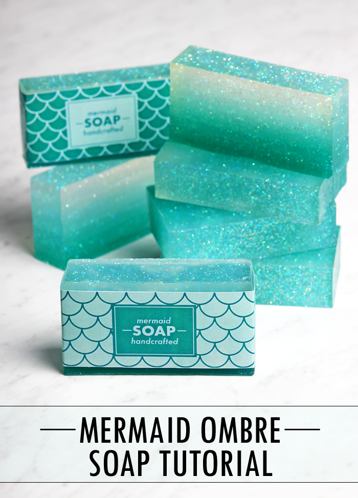 Mermaid Soap Tutorial