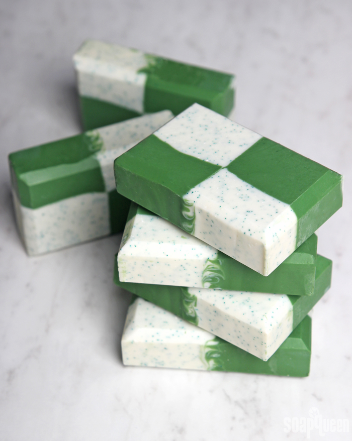 Zesty Green Cold Process Soap Tutorial